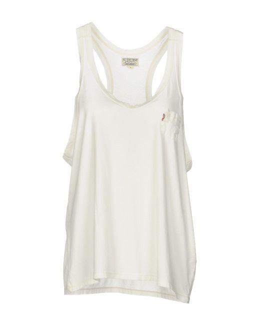 Polo Ralph Lauren - White Vest - Lyst