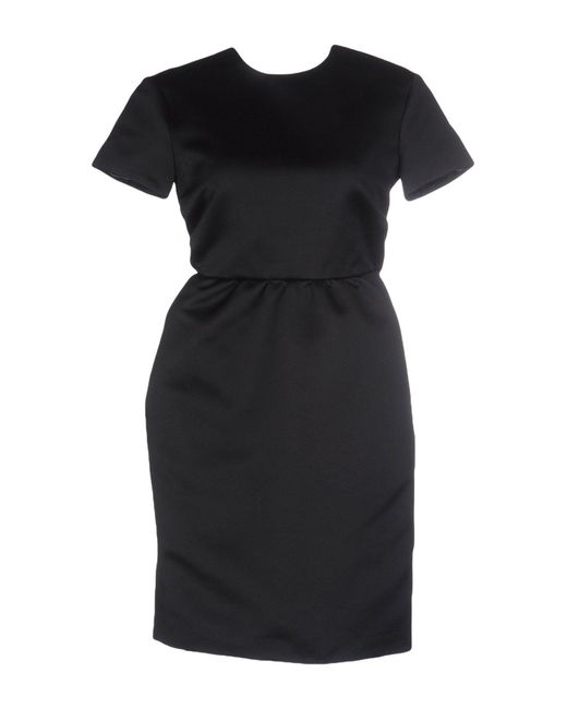 Rochas - Black Short Dresses - Lyst