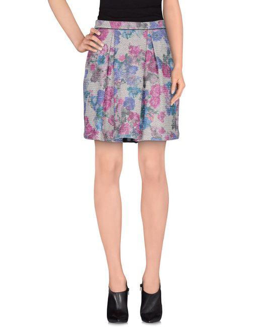 Sea - Multicolor Knee Length Skirt - Lyst