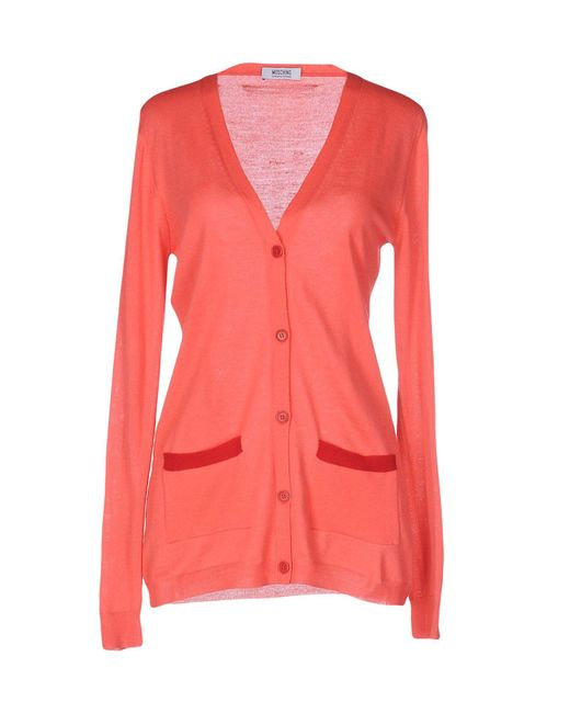 Boutique Moschino - Blue Cardigans - Lyst