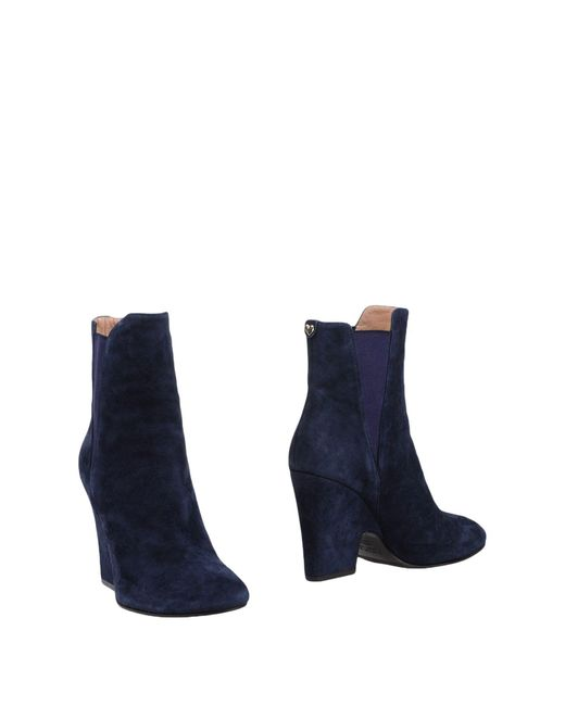 Twin Set - Blue Ankle Boots - Lyst