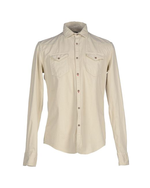 Aglini - Natural Shirts for Men - Lyst