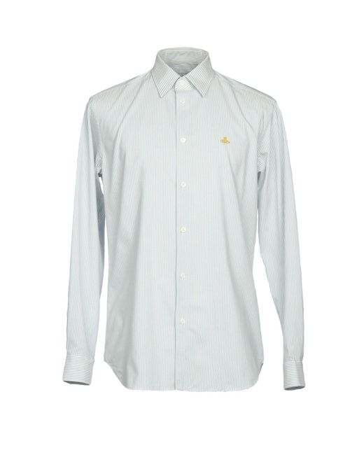 Vivienne Westwood - Blue Shirt for Men - Lyst