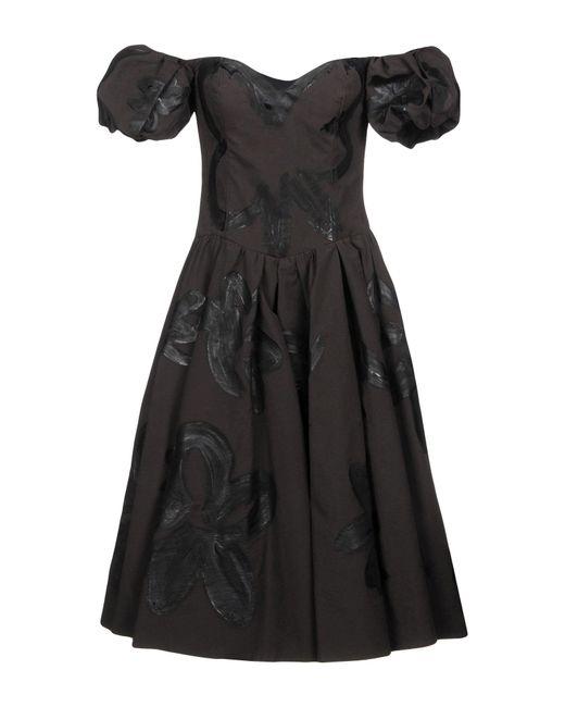 Moschino - Black Knee-length Dress - Lyst