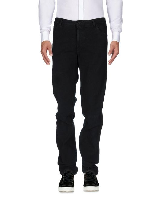Harry & Sons - Black Casual Pants for Men - Lyst
