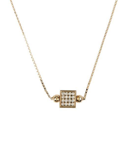 Fendi - Metallic Necklaces - Lyst