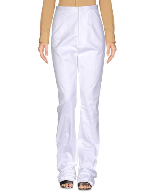 DSquared² - White Casual Pants - Lyst