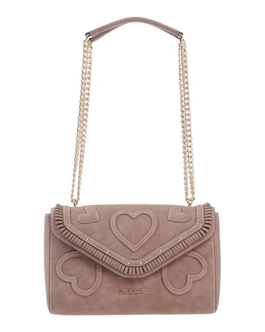 Love Moschino - Brown Shoulder Bag - Lyst