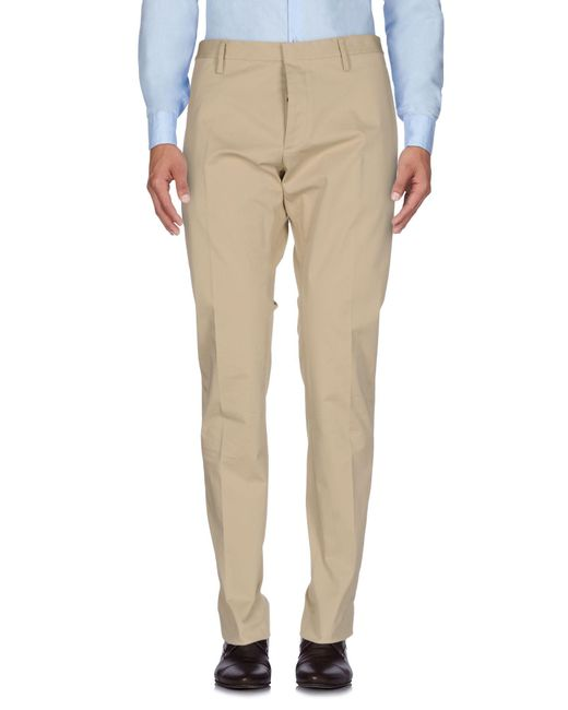 DSquared² - Natural Casual Pants for Men - Lyst