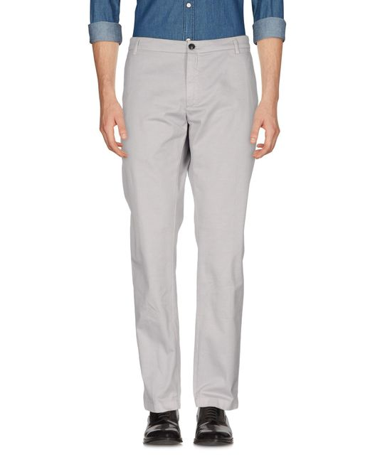 Department 5 | Gray Casual Pants for Men | Lyst