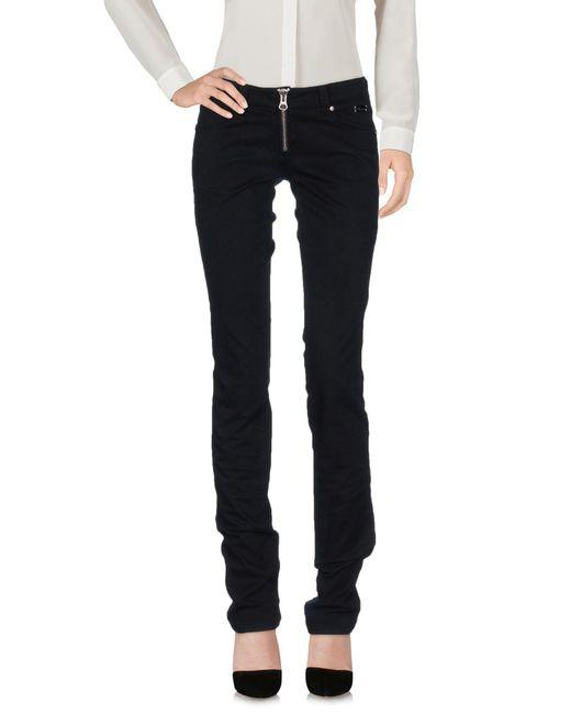 Blumarine - Black Casual Pants - Lyst