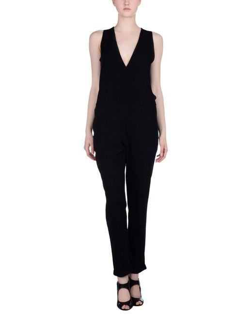 Shirtaporter - Black Jumpsuit - Lyst