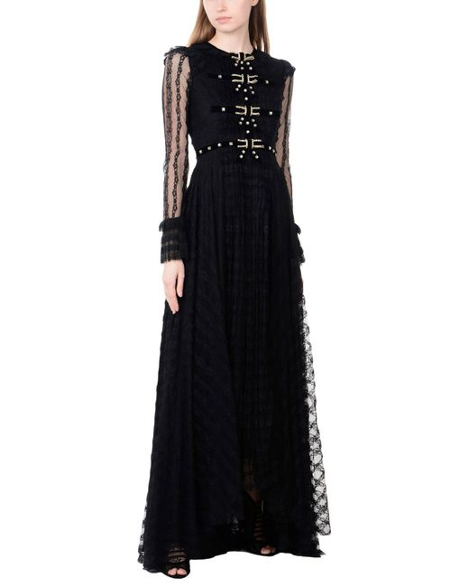 Philosophy Di Lorenzo Serafini - Black Long Dress - Lyst