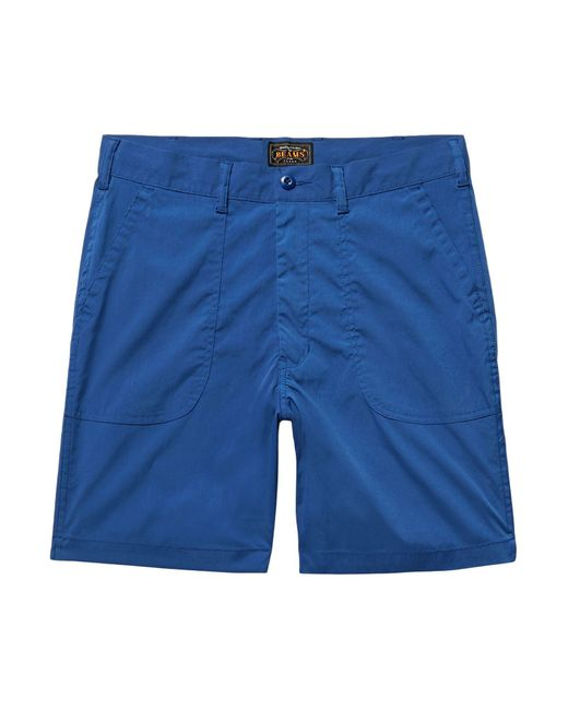 Beams Plus - Blue Bermuda Shorts for Men - Lyst