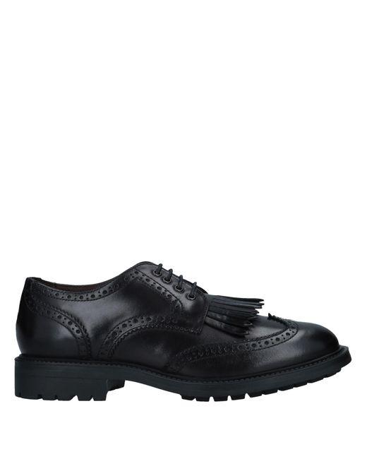 Boemos - Black Lace-up Shoe - Lyst