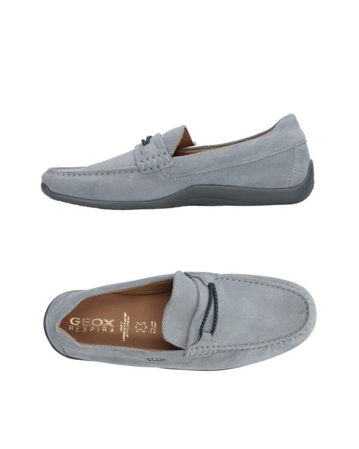Geox - Gray Loafer for Men - Lyst