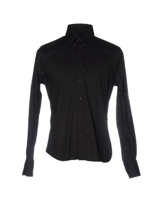 Massimo Rebecchi - Black Shirts for Men - Lyst