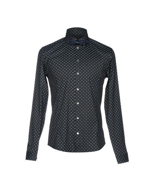 Patrizia Pepe - Blue Shirt for Men - Lyst