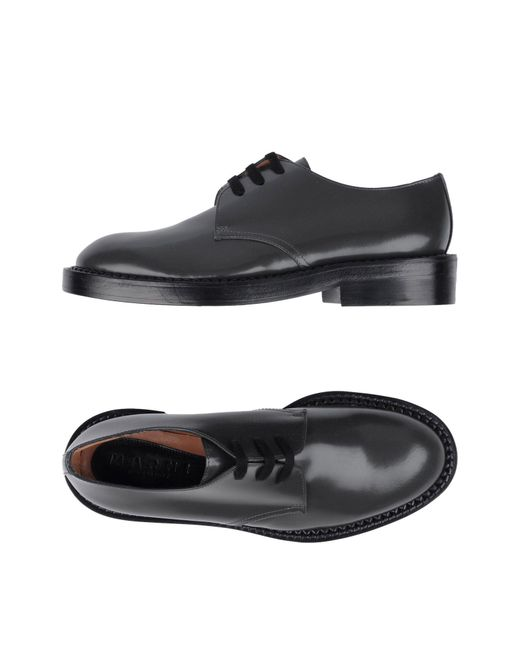 Marni | Gray Lace-up Shoe for Men | Lyst