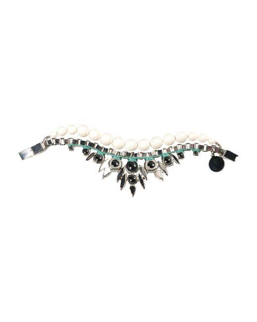 Ellen Conde - White Bracelet - Lyst
