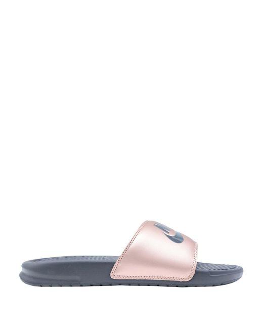 official photos 66b9d e4986 Nike - Pink Sandals - Lyst ...
