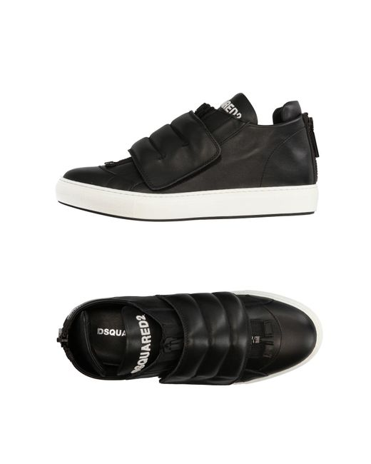 DSquared² | Black Low-tops & Sneakers for Men | Lyst