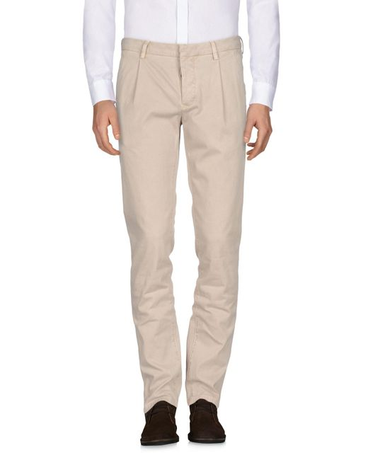 Fradi - Natural Casual Trouser for Men - Lyst