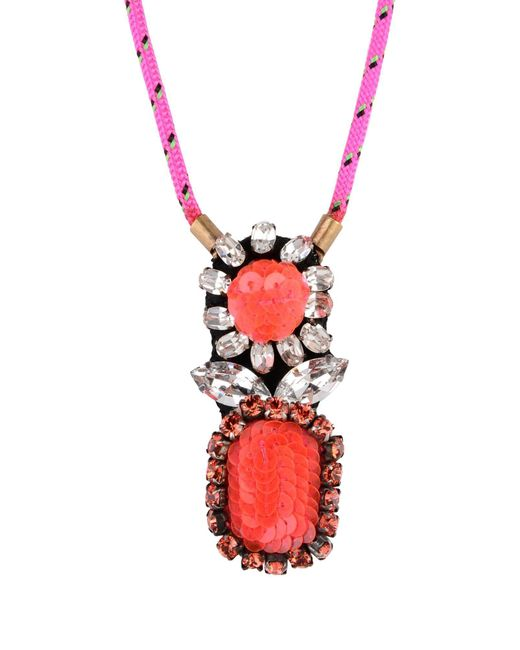Shourouk | Multicolor Necklace | Lyst