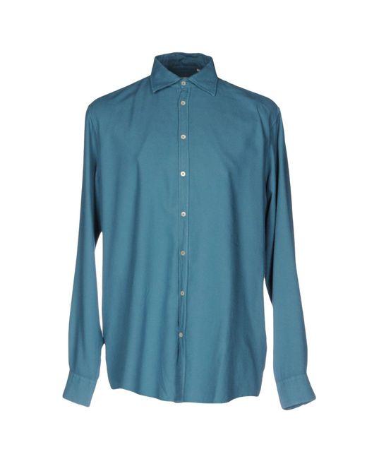 Massimo Alba - Blue Shirt for Men - Lyst