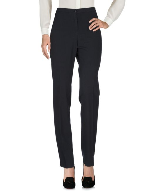 Caractere - Blue Casual Trouser - Lyst