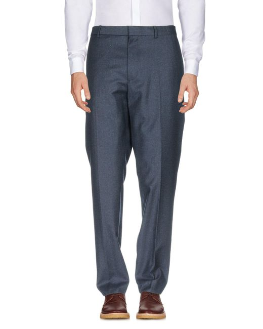 Club Monaco - Blue Casual Pants for Men - Lyst