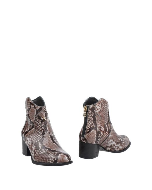 Patrizia Pepe - Brown Ankle Boots - Lyst