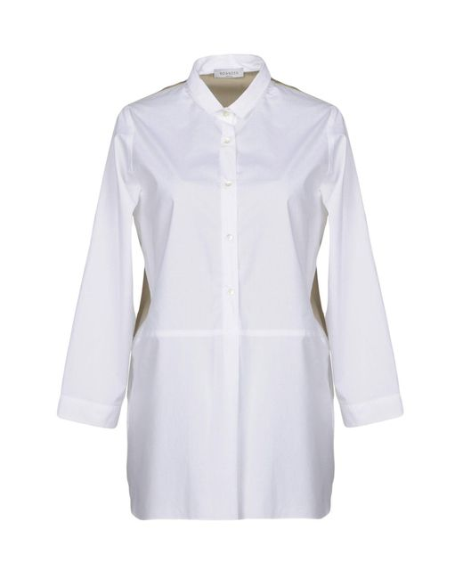 ROSSO35 - White Shirt - Lyst