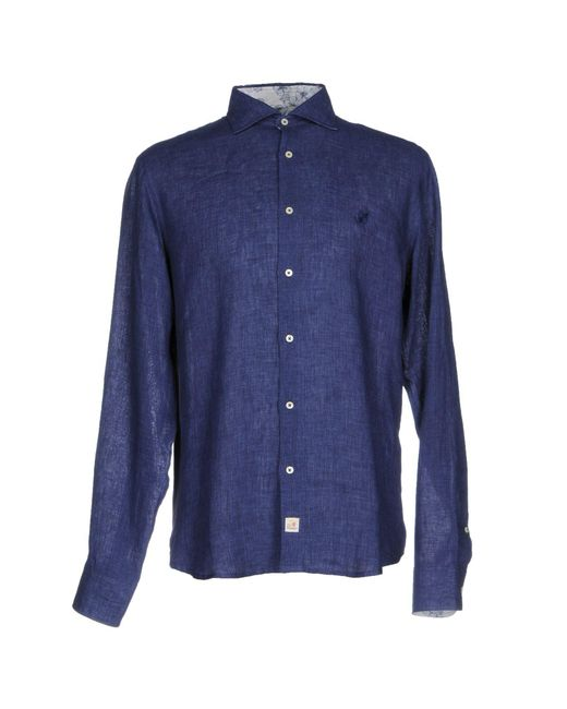 Smythson | Blue Shirt for Men | Lyst