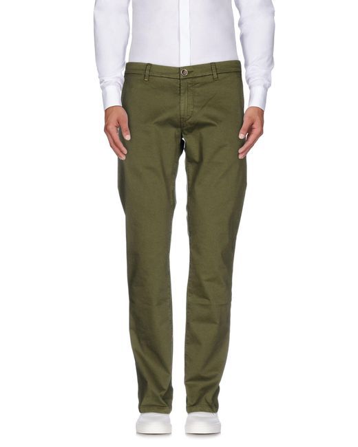 Re-hash - Green Casual Trouser for Men - Lyst