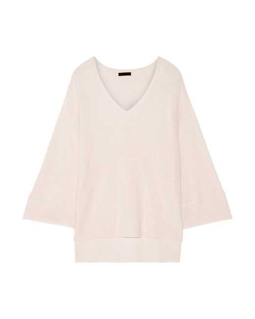 ATM - Pink Modal-blend Sweater - Lyst