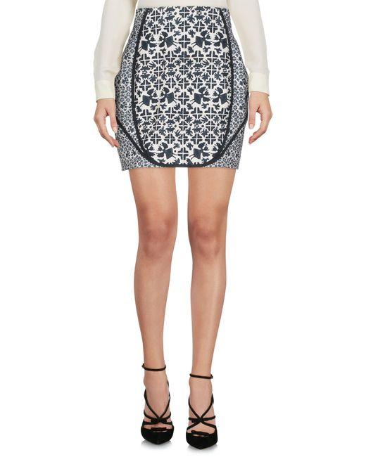 O'2nd - Black Knee Length Skirt - Lyst