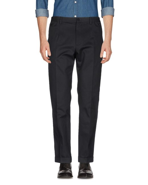 Dolce & Gabbana - Gray Casual Pants for Men - Lyst