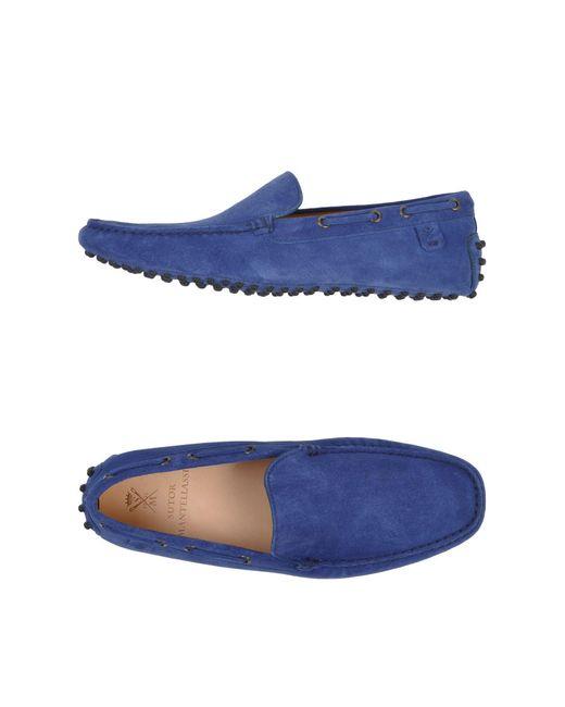 Sutor Mantellassi - Blue Loafer for Men - Lyst