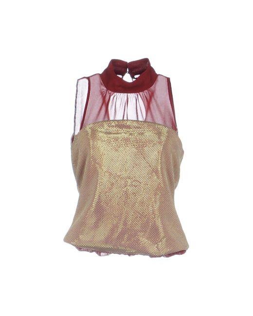 Silvian Heach - Brown Short Dress - Lyst