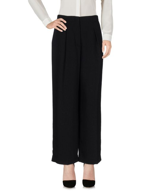 Elizabeth and James - Black Casual Trouser - Lyst