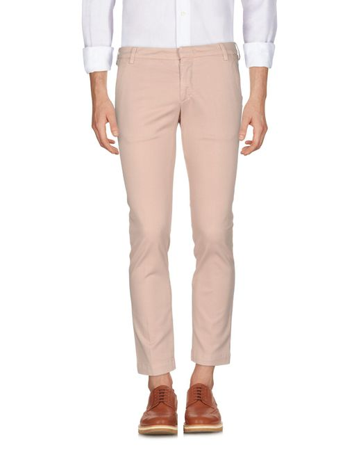 Entre Amis - Pink Casual Pants for Men - Lyst