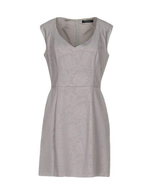Guess - Purple Short Dresses - Lyst