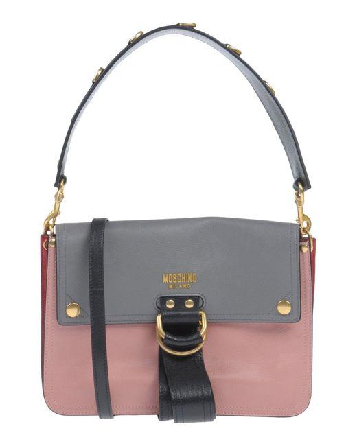 Moschino - Blue Handbag - Lyst