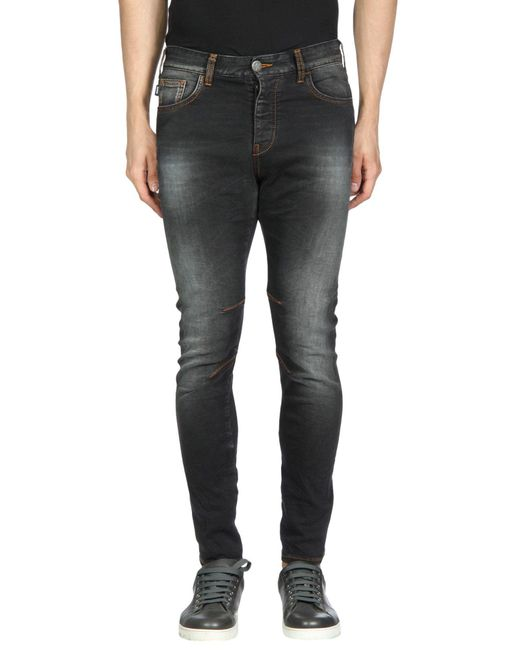 Armani Jeans | Black Denim Pants for Men | Lyst
