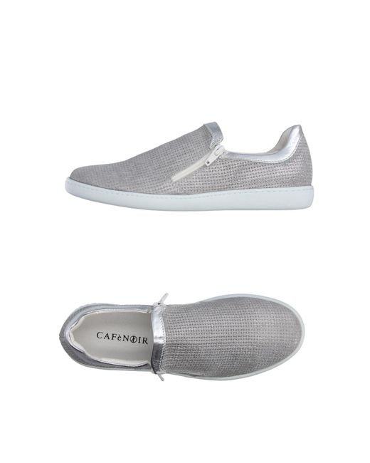 CafeNoir - Gray Low-tops & Sneakers - Lyst