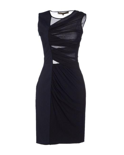 Space Style Concept | Blue Short Dress | Lyst