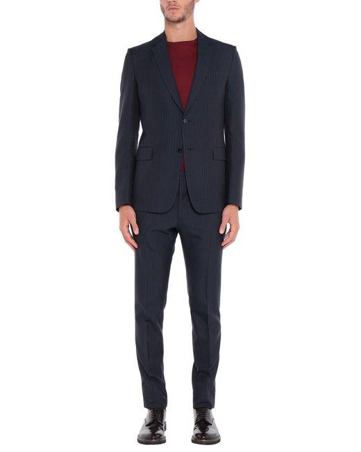 Valentino Blue Suit for men