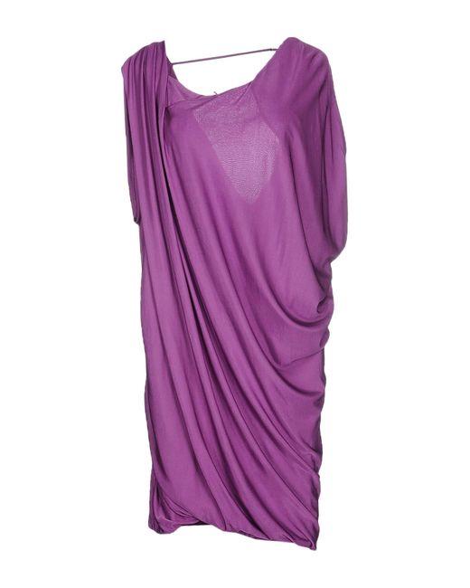 Pinko | Purple Knee-length Dress | Lyst