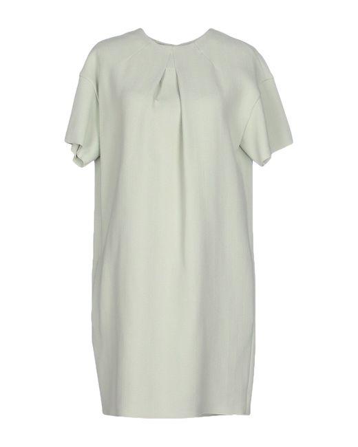 Rochas | Green Short Dress | Lyst